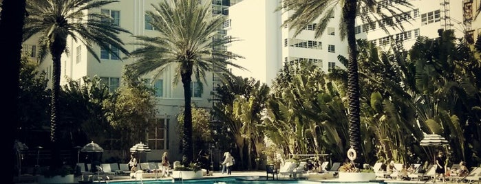 The Raleigh Hotel is one of Miami Music Week 2014.