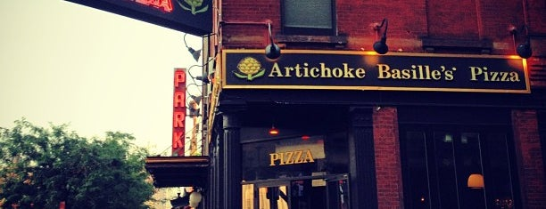 Artichoke Basille's Pizza & Bar is one of Great Square Slices in NYC.