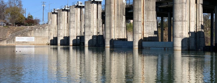 Longhorn Dam is one of Austin Area Outdoors and Sightseeing.