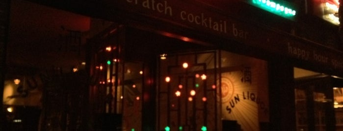 Sol Liquor Lounge is one of Craft Cocktails.