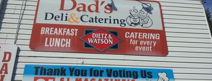 Dad's Deli and Catering is one of foodie.
