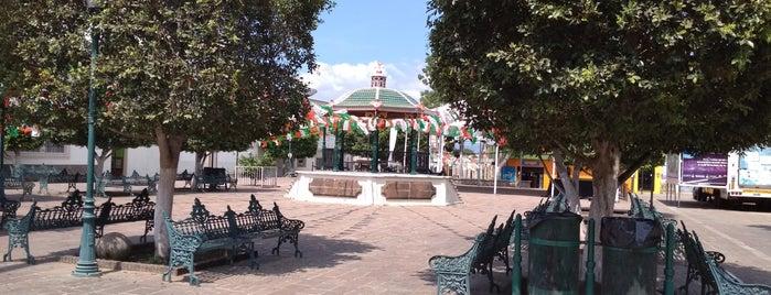 Plaza de Amatitan is one of Sergio M. 🇲🇽🇧🇷🇱🇷'ın Beğendiği Mekanlar.