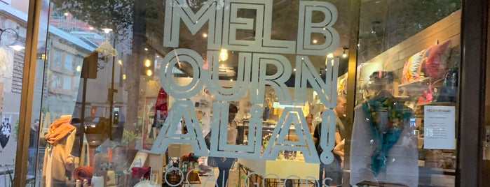 Melbournalia is one of Melbourne.