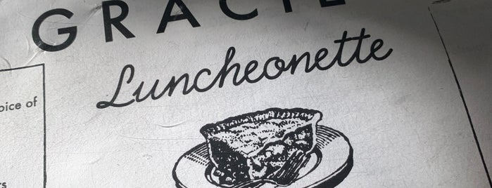 Gracie's Luncheonette is one of Orte, die Rosie Mae gefallen.