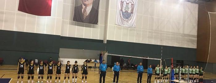 Meslek Yüksekokulu Spor Salonu is one of Cansu : понравившиеся места.