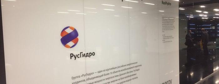 ПАО «РусГидро» is one of Locais curtidos por Катерина.