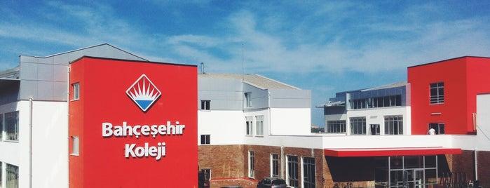 Bahçeşehir Koleji Güzelbahçe Kampüsü is one of Orte, die Erkan gefallen.