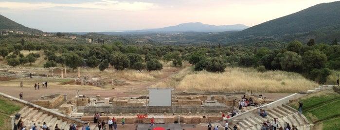 Αρχαίο Θέατρο Μεσσήνης is one of Grécia.