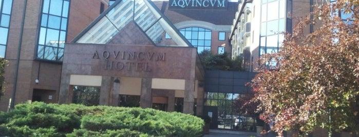 The Aquincum Hotel Budapest is one of สถานที่ที่ Mariya ถูกใจ.