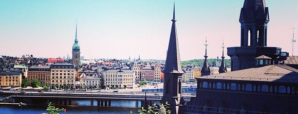 Monteliusvägen is one of Stockholm.