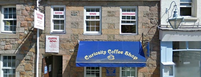 Curiosity Coffee Shop is one of Jersey.