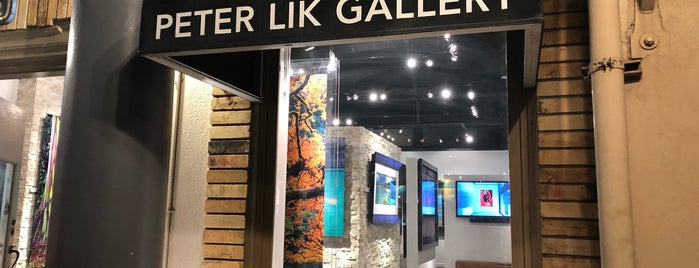 Peter Lik Gallery is one of Maui.