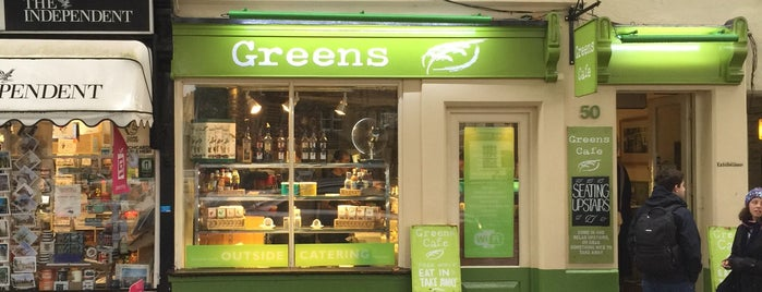 Greens Cafe is one of must check out!!!!.