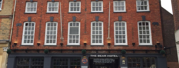 The Bear Hotel Wantage is one of Carl 님이 좋아한 장소.