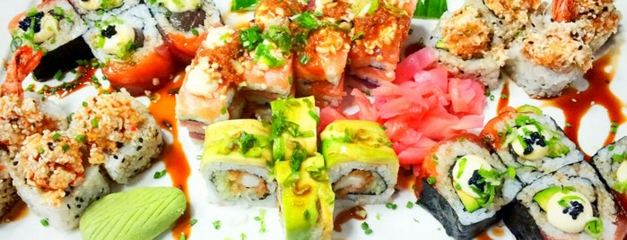 Nuri Sushi Factory is one of The Mother City.