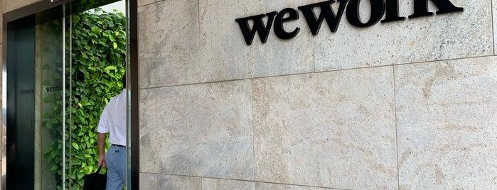 WeWork BKC is one of Orte, die Rob gefallen.