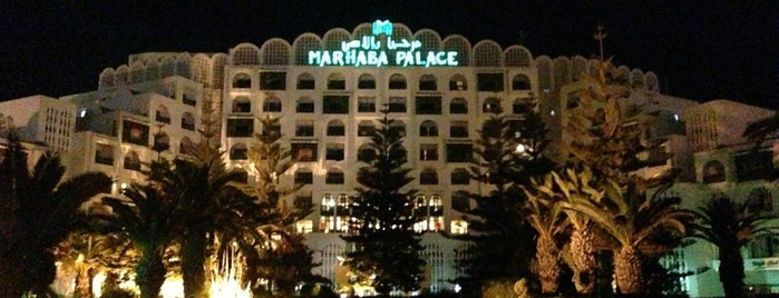 Marhaba Palace Hotel Sousse is one of Места отдыха.