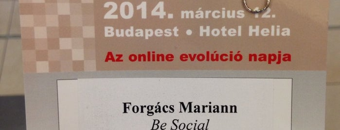Evolution konferencia 2014. is one of 😎 Mariann : понравившиеся места.