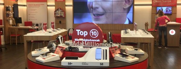 Vodafone is one of vahid: сохраненные места.