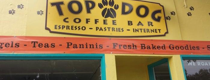 Top Dog Coffee Bar is one of California Coast.