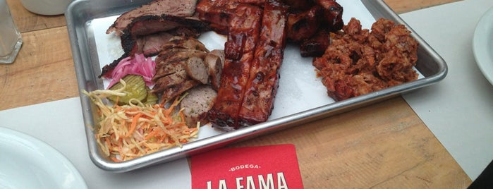 La Fama Barbecue is one of Bogotá.