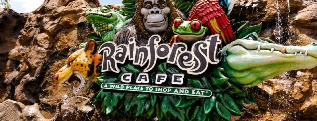 Rainforest Café is one of Disney Springs.