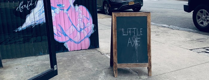 Little Axe Salon is one of NYC Shops.