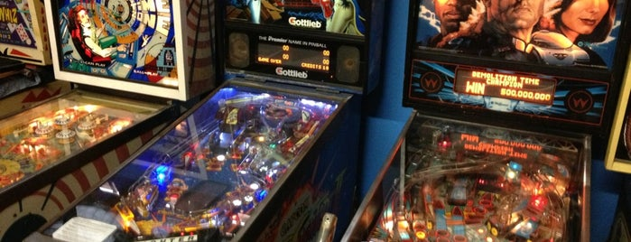 Arcade Age is one of Pinball Destinations.
