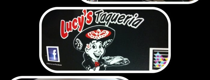 Lucy's Taqueria is one of The best places I've found... everywhere..