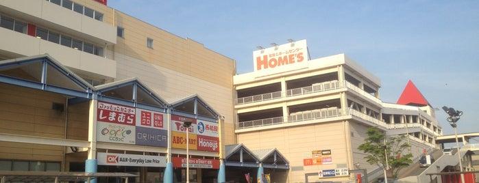 島忠ホームズ 葛西店 is one of 猫太郎 : понравившиеся места.