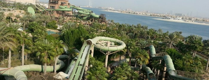 Aquaventure Waterpark is one of Lieux qui ont plu à Abdullah.