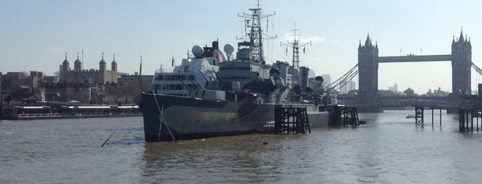 HMS Belfast is one of Pleasure Spots in the UK.
