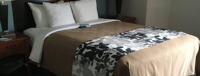 Sleep Inn is one of Lieux qui ont plu à Dawn.