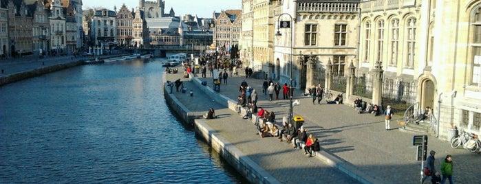 Graslei is one of Zondag in Gent.