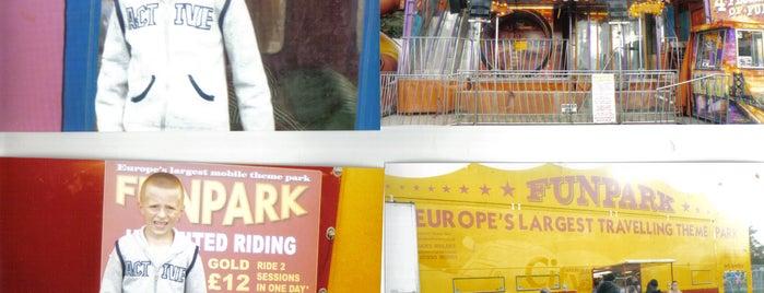 Fun Park in Sidcup is one of Tempat yang Disimpan Deborah Lynn.
