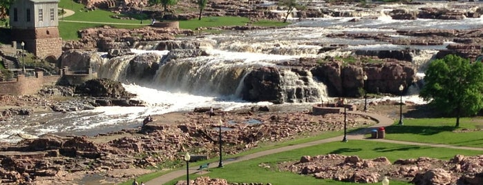 Falls Park is one of A State-by-State Guide to America's Best Parks.