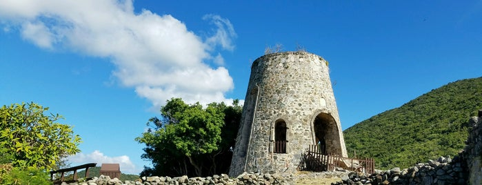 Annaberg Ruins is one of U.S. Virgin Islands.