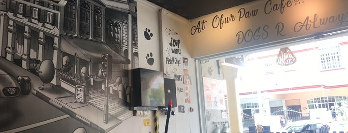 Ofur Paw Cafe is one of Dog Friendly Food Places Singapore.