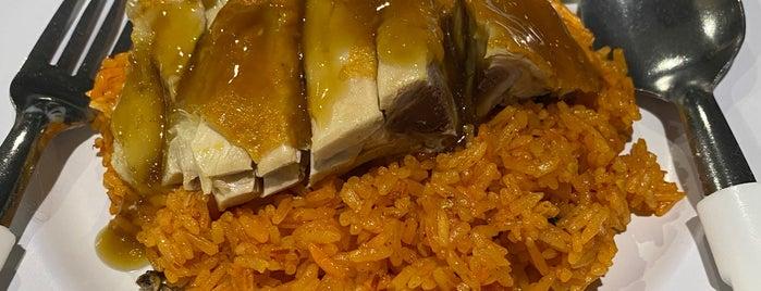 Jefri The Original Botak Chicken Rice is one of Micheenli Guide: Nasi Ayam Penyet/Goreng in SG.