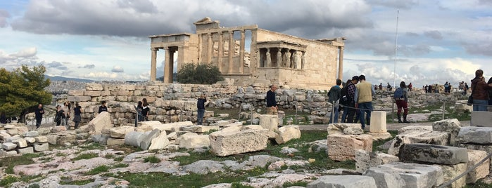 Erechtheion is one of Grecia.