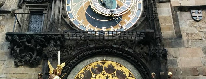 Relógio Astronômico de Praga is one of Praha <3.