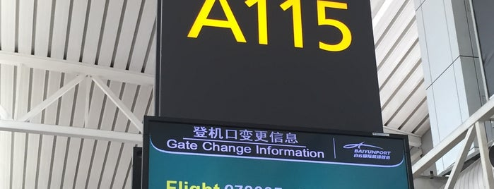 Gate A115 is one of Locais curtidos por Shank.