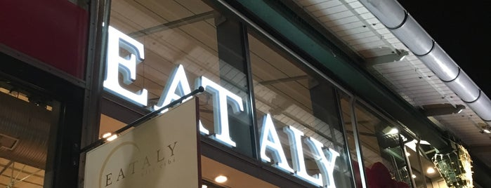 Eataly is one of Minga (shopping).