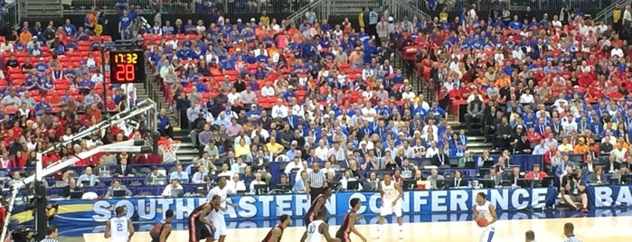 SEC Basketball Tournament is one of Favorites.