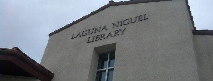 Laguna Niguel Library is one of Tempat yang Disukai chris.