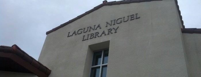 Laguna Niguel Library is one of Lugares favoritos de chris.