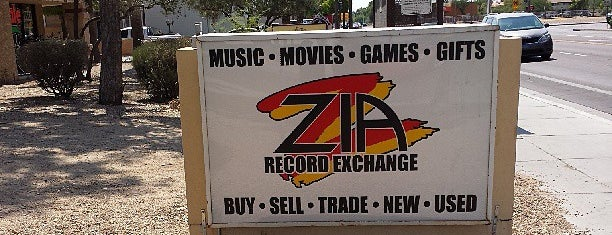 Zia Records is one of PHX.