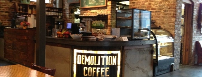 Demolition Coffee is one of Lorenzo 님이 저장한 장소.