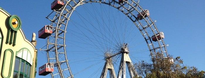 Riesenradplatz is one of Ich bin eine Globetrotterin.