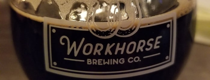 Workhorse Brewing Co. is one of Locais curtidos por Chris.